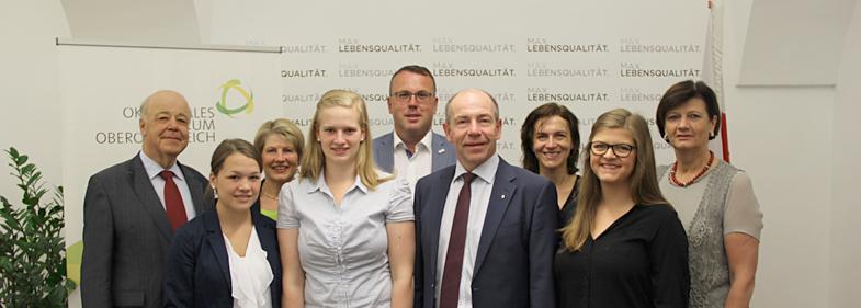 """ÖSF OÖ unterstützt Diplomarbeit zum Thema """"vegan"""" oder """"konventionell"""""""