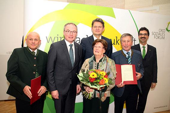 Karl Buchgraber, Stephan Pernkopf, Margit Brandstätter, Helmut Brandstätter, Eduard Paminger und Martin Gerzabek