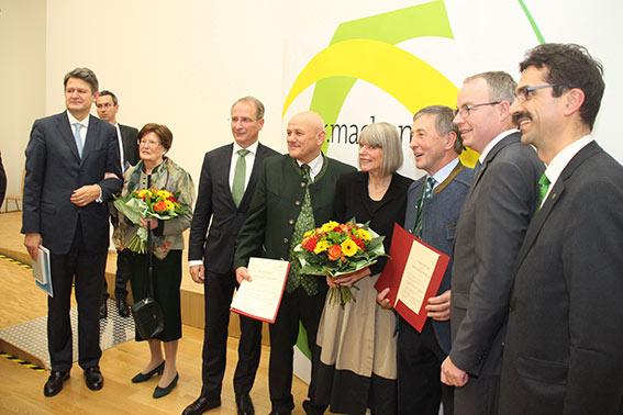 Helmut Brandstätter, Margit Brandstätter, Kurt Weinberger, Karl Buchgraber, Gerlind Weber, Eduard Paminger, Stephann Pernkopf und Martin Gerzabek
