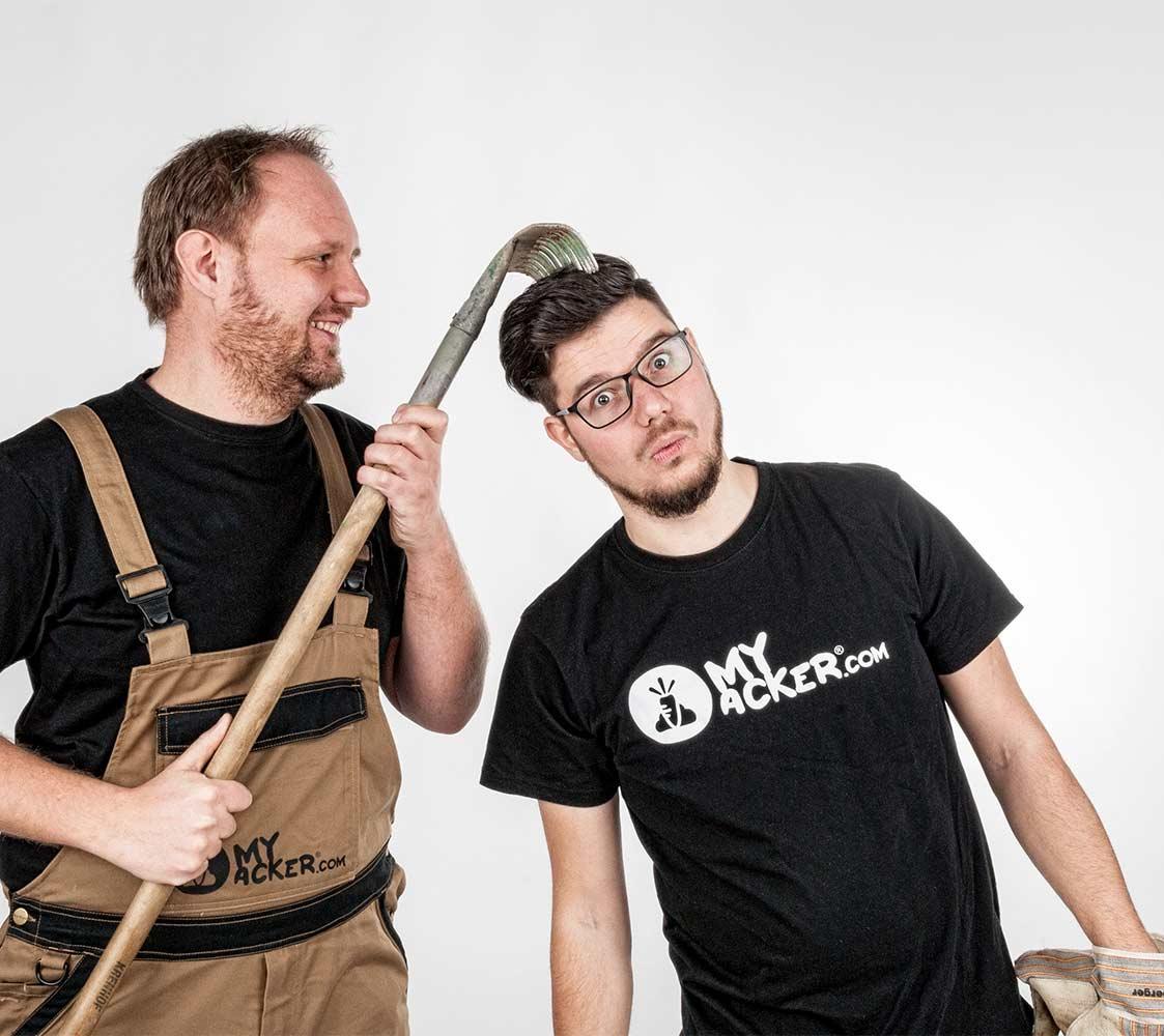 Christoph Raunig und Patrick Kleinfercher