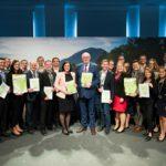 Übergabe des Forderungspapiers des AgrarThinkTank evolution beim informellen Agrarministerrat 2018