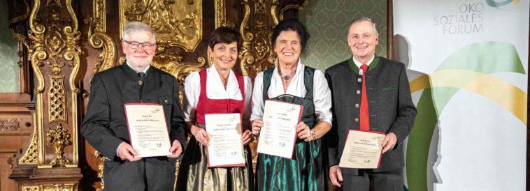 August Ast, Theresia Neuhofer, Elisabeth Johann, Josef Fradler