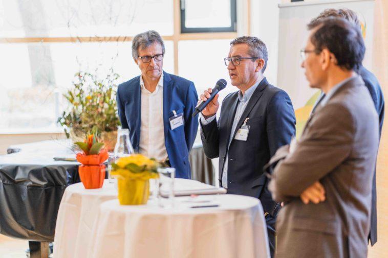 v.l.n.r.: Helmut Gaugitsch, Josef Peck, Bernhard Föger (verdeckt), Ferdinand Lembacher