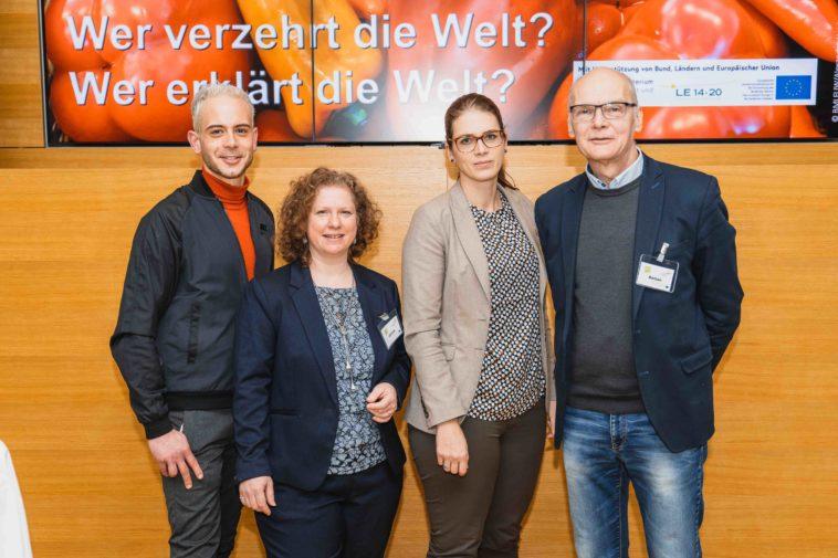 v.l.n.r. Christoph Gitschner, Eva Gantar, Michaela Hebein, Claus Reitan