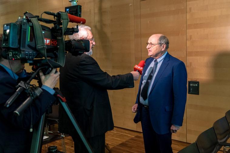 Christoph Badelt, Leiter des WIFO und des wissenschaftlichen Beirates im ORF-Interview.