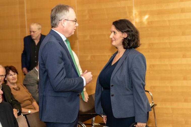 Stephan Pernkopf im Gespräch mit Veronika Mickel-Göttfert