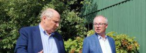 Ökonom Christoph Badelt und Ökosoziales Forum-Präsident Stephan Pernkopf